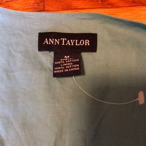 Ann Taylor Tops - Blue wrap around top